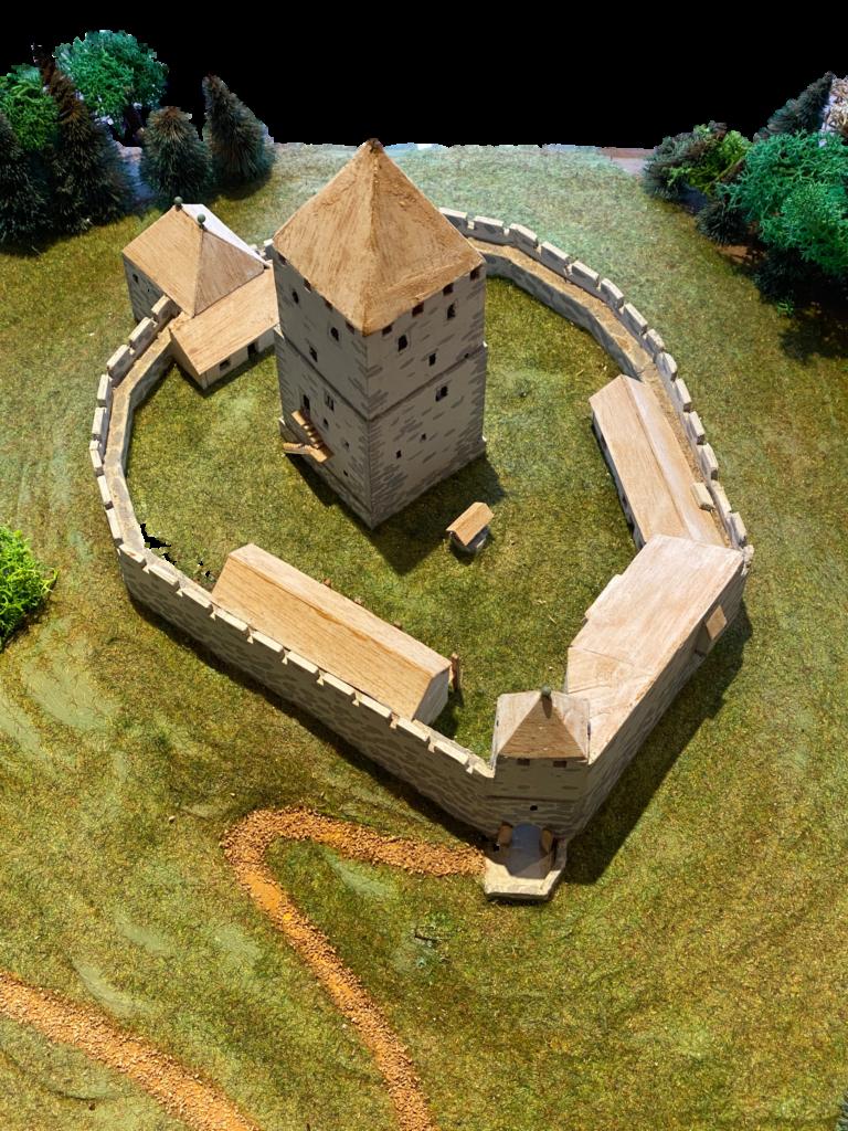 Romanische Adelsburg 1150-1300