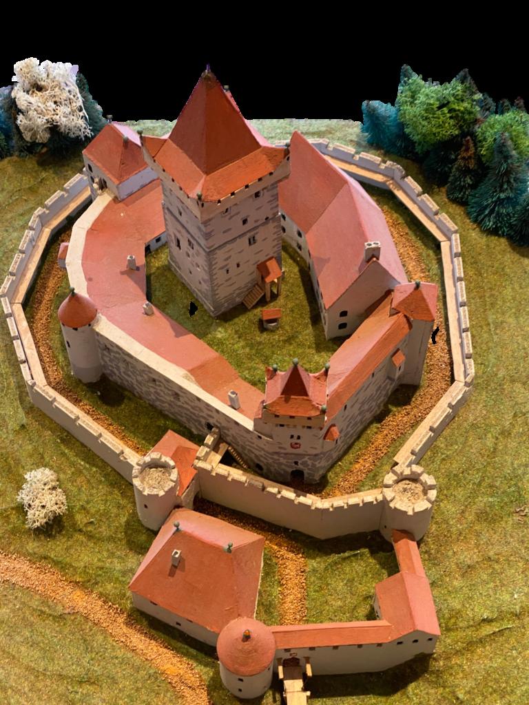 Gotische Herrschaftsburg 1300-1480
